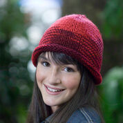Go to Product: Red Heart Knit Roll Brim Hat in color