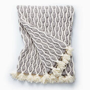 Go to Product: Bernat Trellis & Tassels Knit Afghan in color