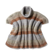 Go to Product: Caron Cozy Up Knit Poncho in color