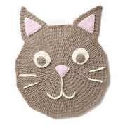 Bernat Purrrfect Crochet Play Rug