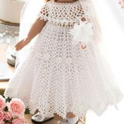 Go to Product: Red Heart Wedding Dress For Doll in color