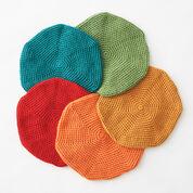 Go to Product: Bernat Classic Crochet Beret, Foliage in color