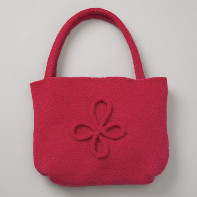 Patons Felted Bag with Motif