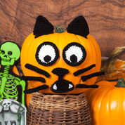 Go to Product: Red Heart Spooky Cat Pumpkin in color