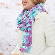 Red Heart Easy Style Scarf