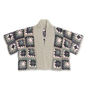 Go to Product: Caron x Pantone Crochet Kimono Cardigan, XS-L in color