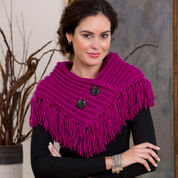 Go to Product: Red Heart Fringed Cowl in color