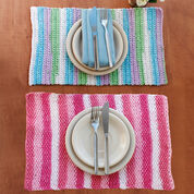 Lily Sugar'n Cream Stripes Placemat