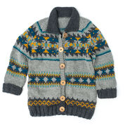 Go to Product: Patons Cowichan Style Raglan Cardigan, XS/S in color