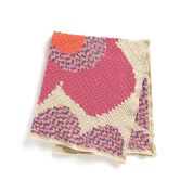 Go to Product: Caron C2C Pop Art Flowers Crochet Blanket in color
