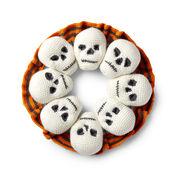 Go to Product: Red Heart Circle of Skulls Wreath in color