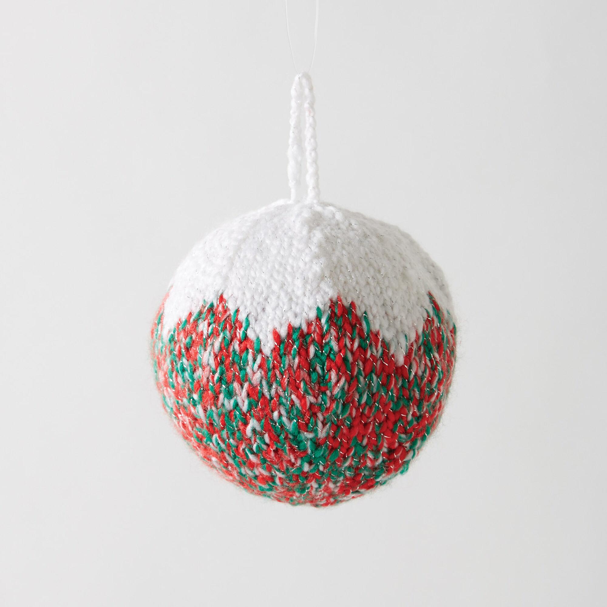 Bernat Classic Christmas Tree Ornament Red Amp Green