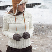 Go to Product: Patons Cabled Yoke Pullover, XS/S in color