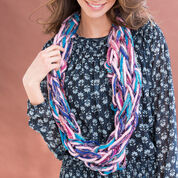 Red Heart Arm-Knit Chic Cowl