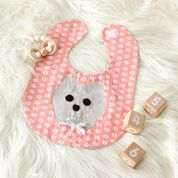 Go to Product: Dual Duty Grin and Bear It Baby Bib in color