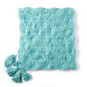 Bernat Diamond in the Rough Knit Blanket