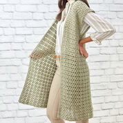 Go to Product: Red Heart Sage Stitch Long Cardigan, S in color