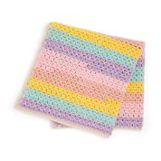 Go to Product: Caron Tiles for Miles Crochet Baby Blanket​ in color