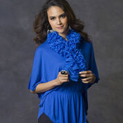 Go to Product: Red Heart Royally Ruffled Scarf, Short in color