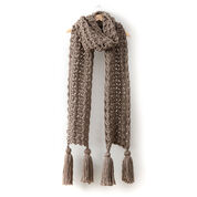 Bernat Pump Up The Volume Crochet Super Scarf