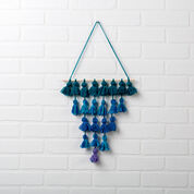 Red Heart Tassel Wall Hanging