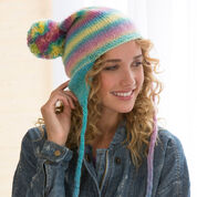 Go to Product: Red Heart Soft Shades Earflap Hat, S/M in color