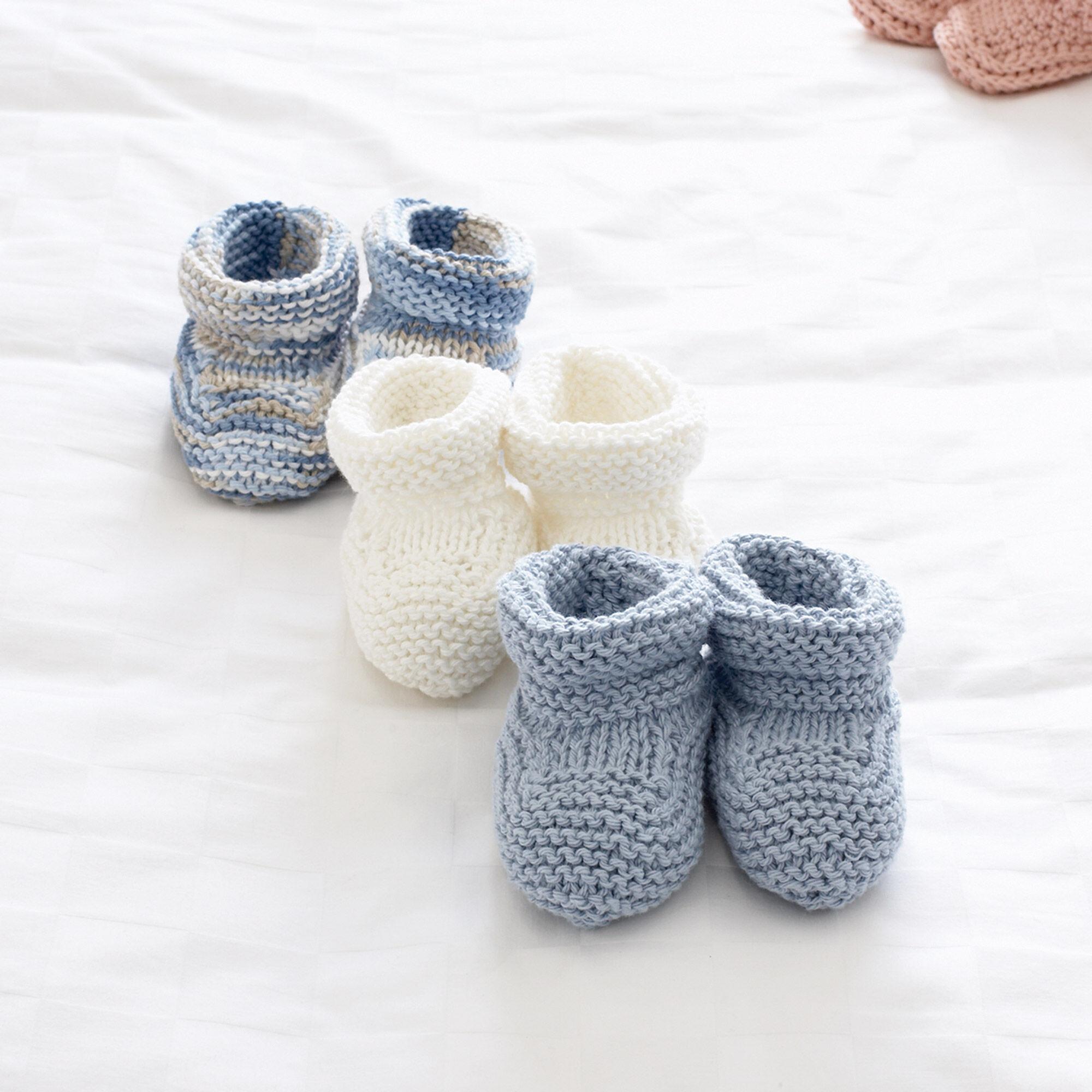 Bernat Baby\'s Booties, 3 mos   Yarnspirations