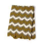 Go to Product: Bernat Foamy Waves Crochet Blanket in color