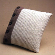 Patons Buttoned Up Pillow