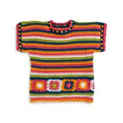 Go to Product: Caron In Living Color Crochet Top, XS/S in color