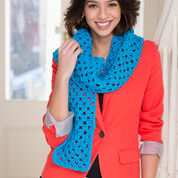 Go to Product: Red Heart Beginner Granny Square Scarf in color