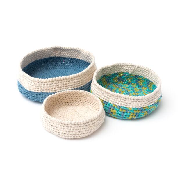 Bernat Crochet Nesting Bowls, S in color