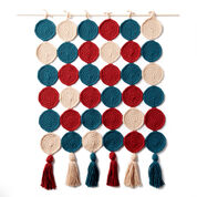 Bernat Round In Circles Crochet Wall Hanging