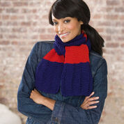 Go to Product: Red Heart Simple Knit Scarf in color