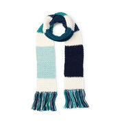 Caron x Pantone Crochet Color Swatch Scarf, Version 1
