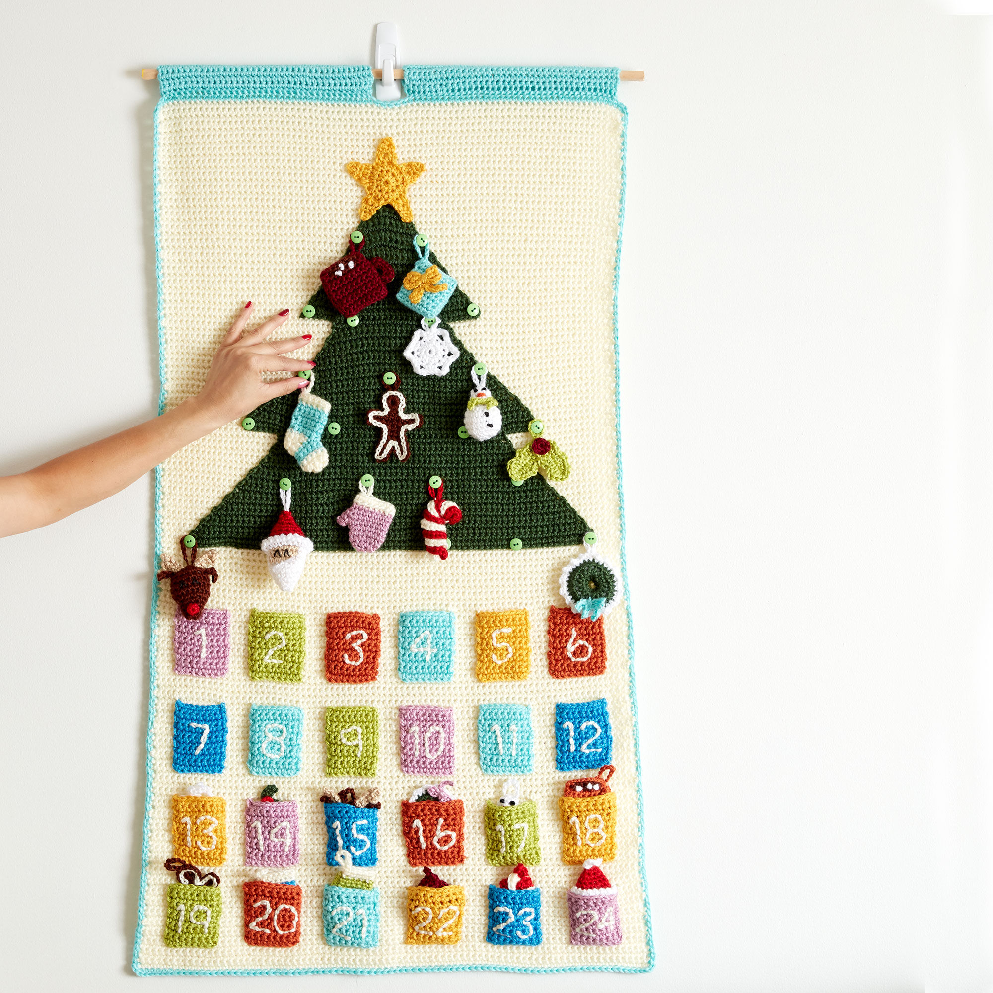 Caron Countdown To Christmas Crochet Advent Calendar | Yarnspirations