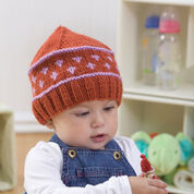 Red Heart Baby Fair Isle Hat