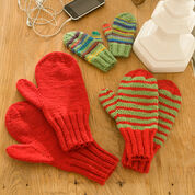 Red Heart Mittens for All, Child