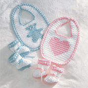 Bernat Sweetheart or Teddy Set, Sweetheart