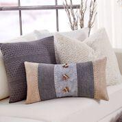 Coats & Clark Strip it Rich Wool Pillow