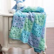 Bernat 3 Color Crochet Blanket