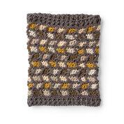 Caron Comme Ci Comme Ca Crochet Cowl