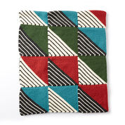 Patons Knit Patchwork Blanket