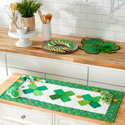 Go to Product: Dual Duty St Patricks Day Quilted Table Runner in color