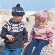 Go to Product: Bernat Pullover & Toque , Ombres - 4 yrs in color