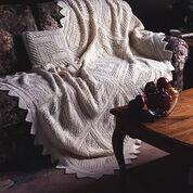 Patons Trellis Squares Pillow
