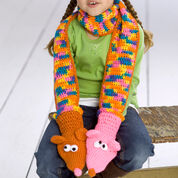 Go to Product: Red Heart Childs' Puppet Scarf in color