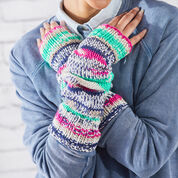 "Go to Product: Red Heart Knit Fair Isle Arm Warmers, Wrist: 6"" in color"