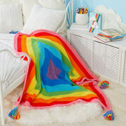 Go to Product: Red Heart Crochet-a-Rainbow Blanket in color