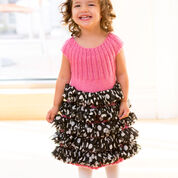 Red Heart Perfect Party Dress, 2 yrs